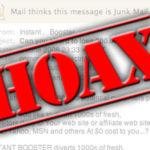 spaarlampen hoax